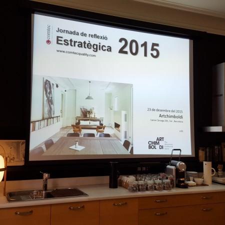 'Jornada estratègica 2015' , plantejant el nou any