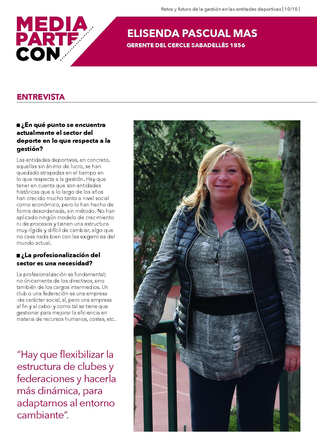 Entrevista Elisenda Pascual